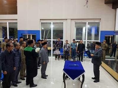 Sekda Meranti Dijabat Bambang Supriyanto</a>