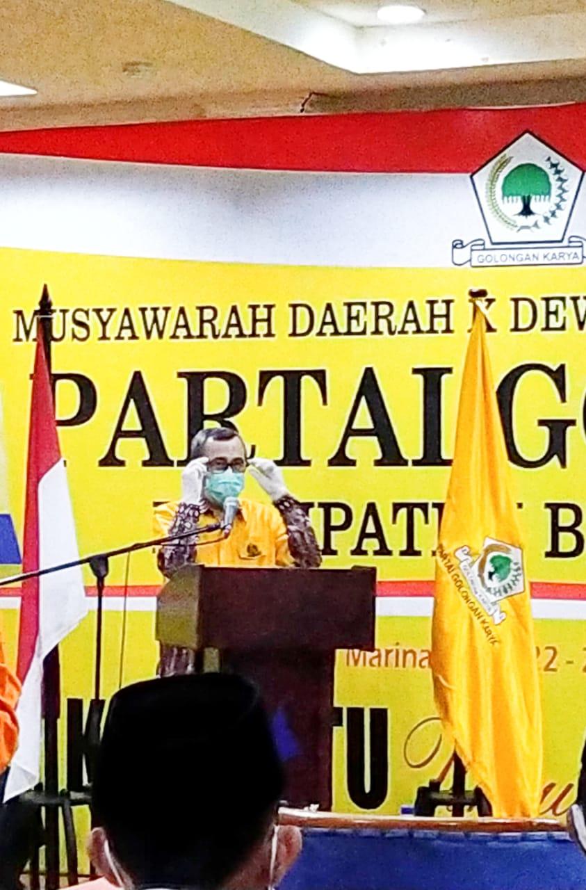DPD Golkar Bengkalis Usung Indra Gunawan Eet, Syamsuar : Tergantung DPP</a>