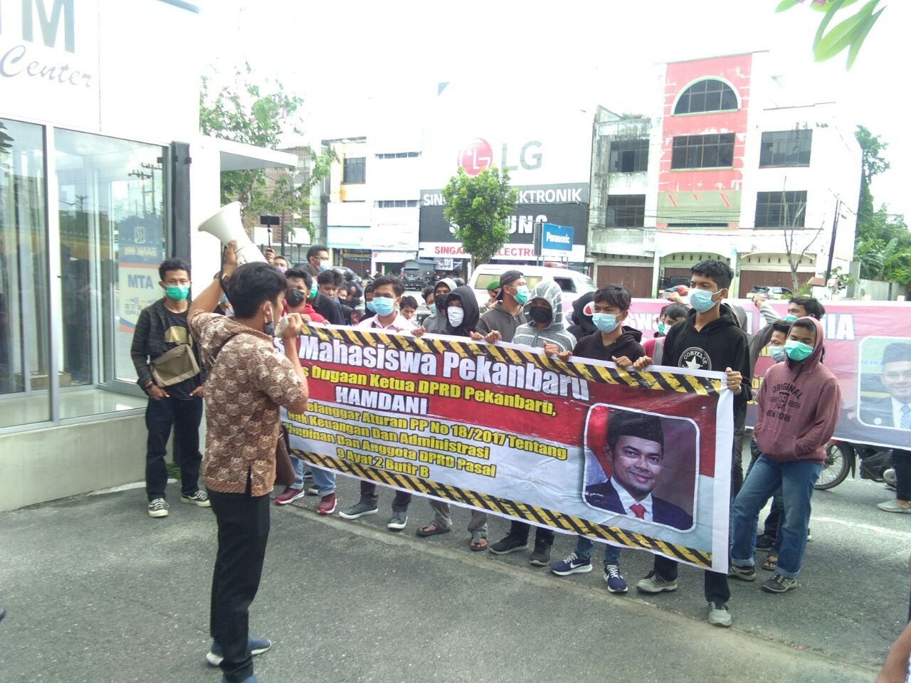 AMP Minta Desak Ketua DPRD Pekanbaru, Yunius Zega: Dimana Masalahnya</a>