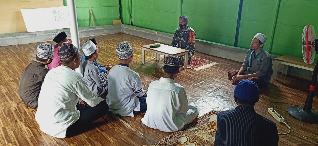 Babinsa Binawidya Siap Bina Santri Tahfiz Ar-rahman Bercita-cita jadi TNI</a>