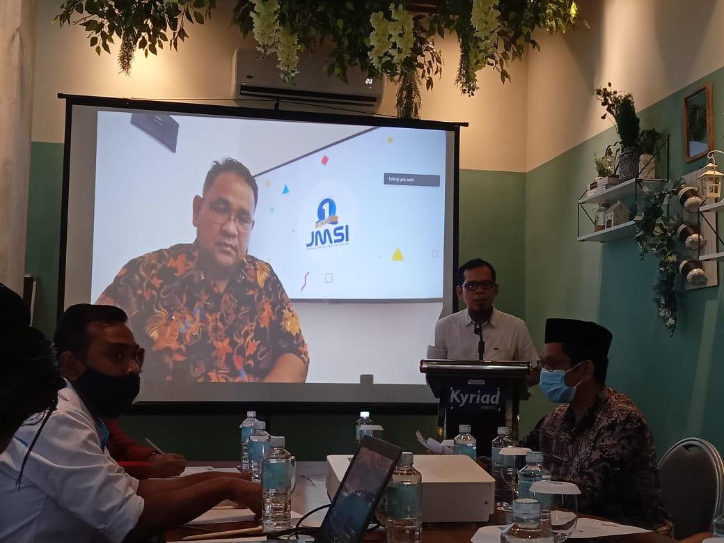 Ketum JMSI Buka Secara Virtual Rakerda JMSI Aceh</a>