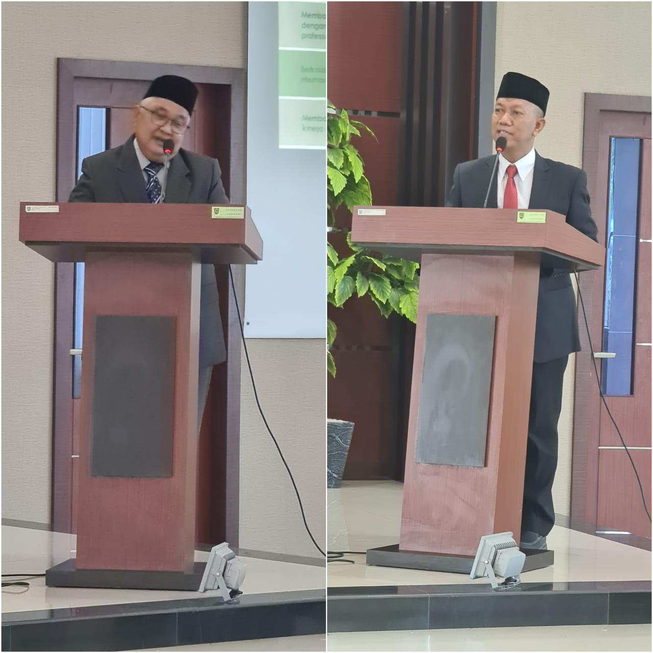 Jum'at, Debat Visi dan Misi Dua Calon Rektor UIR</a>