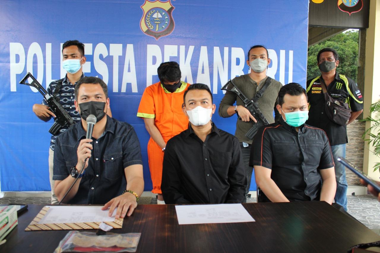 Gelar Konpres, Polresta Ungkap Kasus Pencurian Dengan Kekerasan</a>
