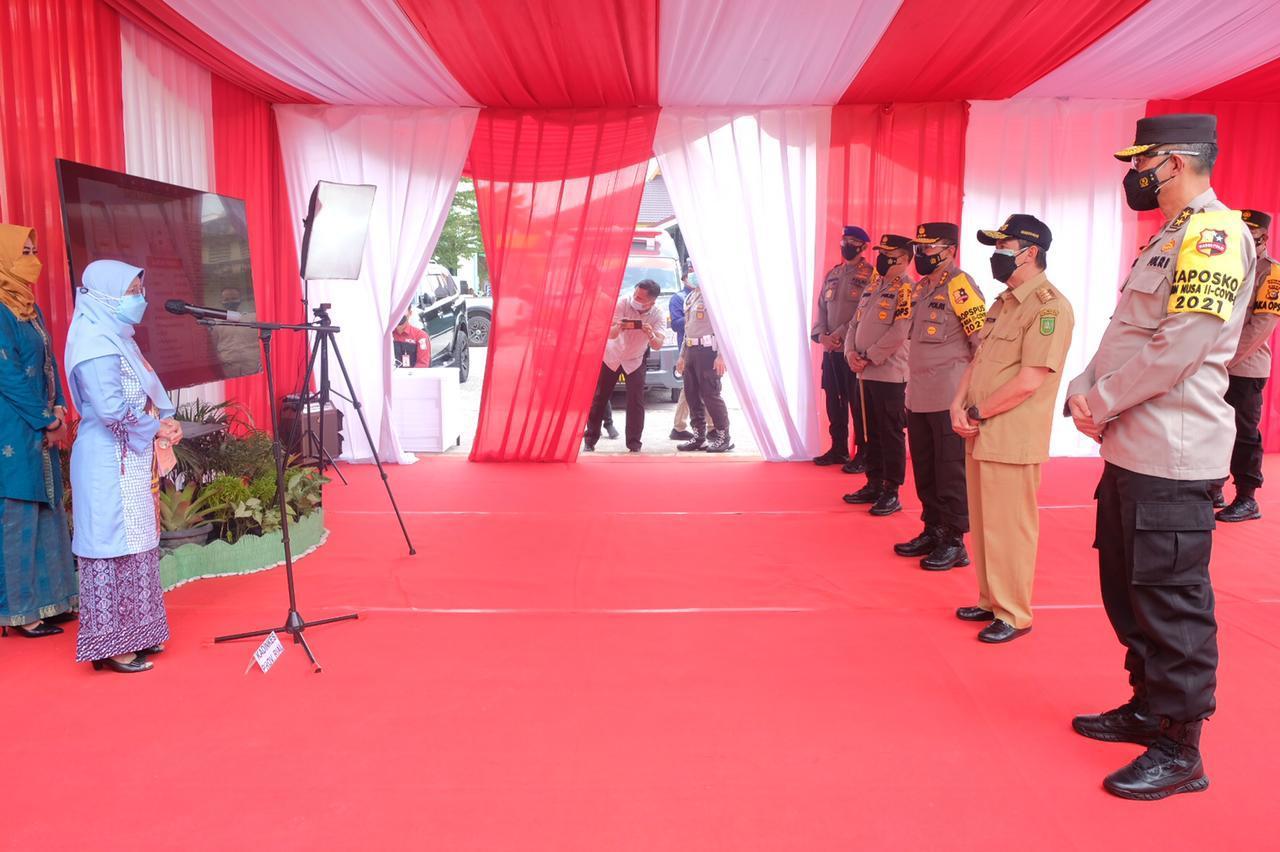 Tinjau Isoter di Asrama Haji, Komjen Arief Puji Penanganan COVID-19</a>