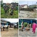 Semangat HJ TNI AD, Koramil 06 Sukajadi Bersama Komponen Masyarakat Gelar Goro di Masjid</a>