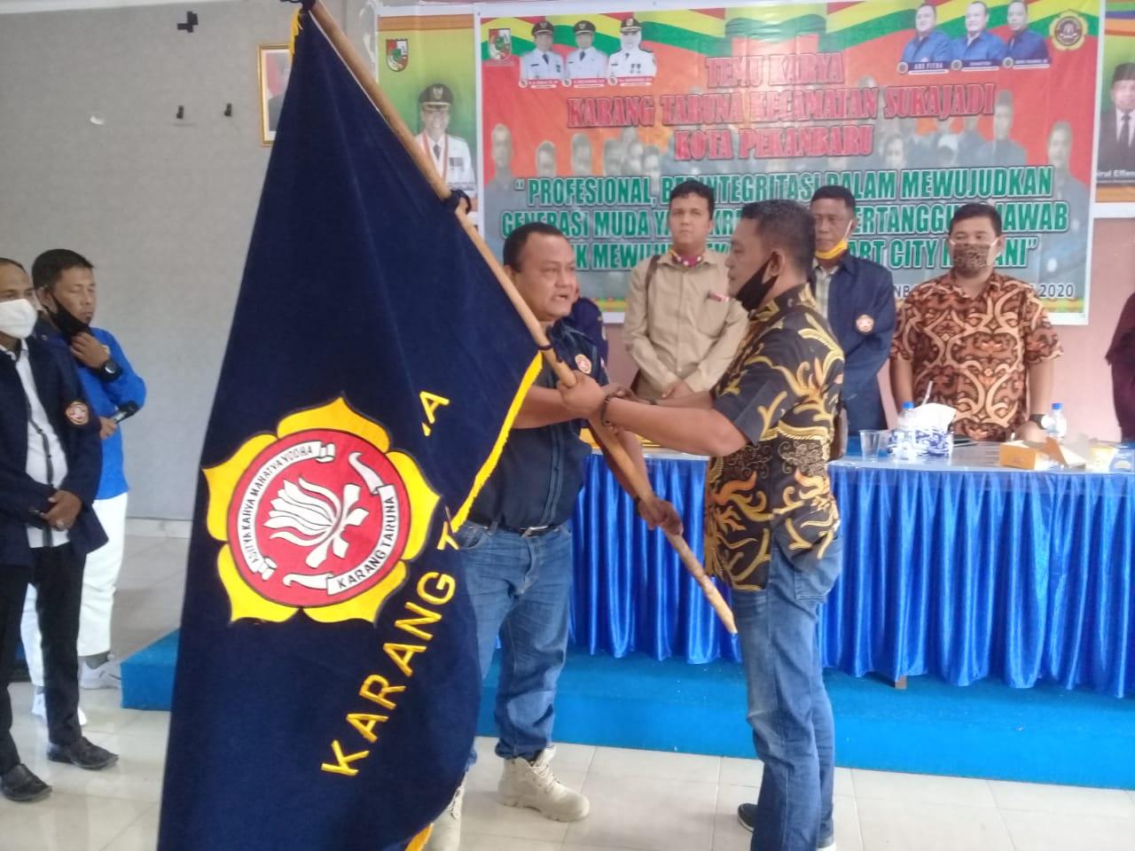Aklamasi, Nasirwan Jabat Ketua KT Kecamatan Sukajadi</a>