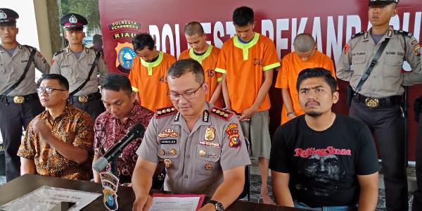 Polresta Ciduk Pelaku Jambret di Cempaka</a>