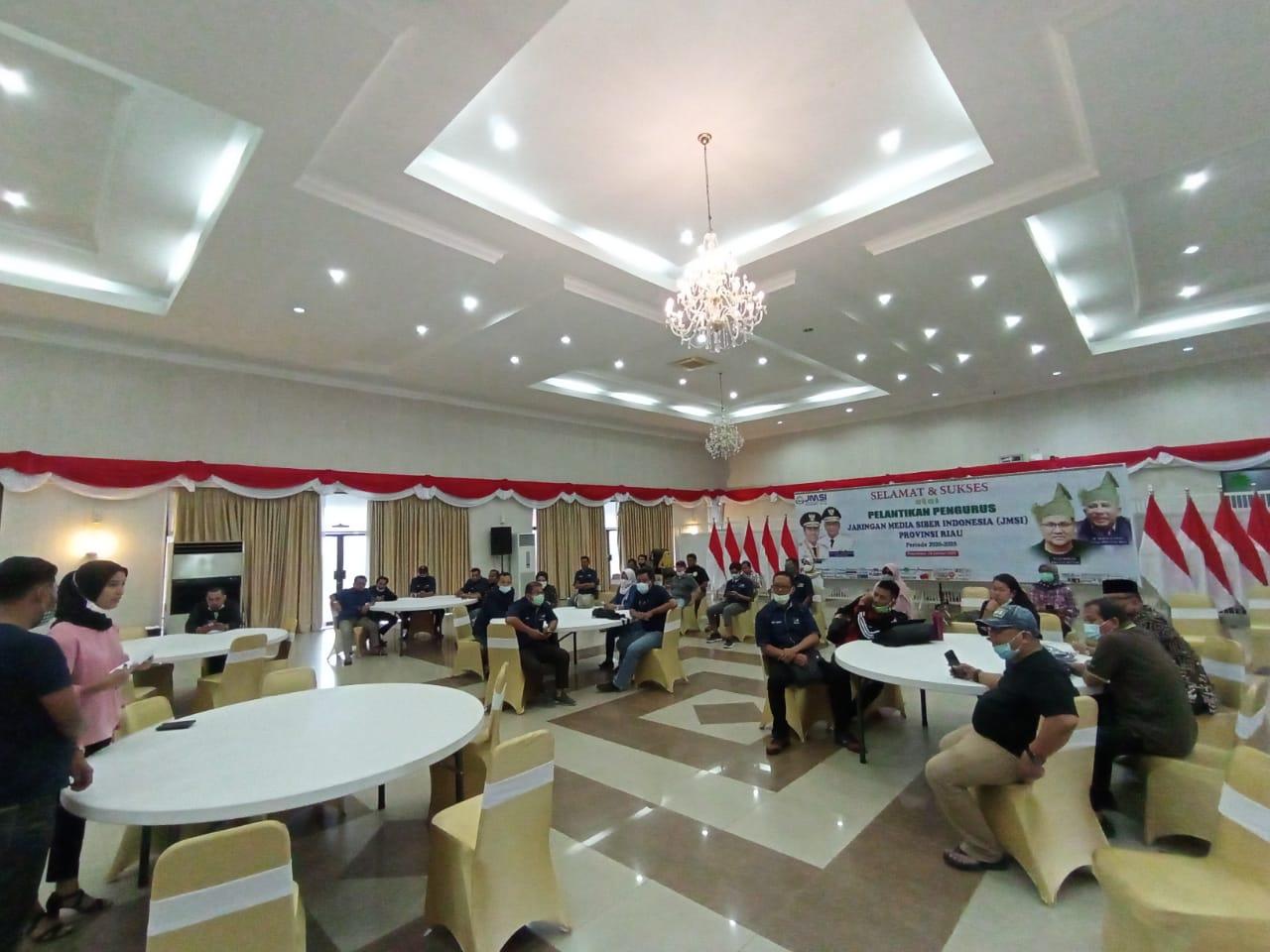 Senin pagi, Pengurus JMSI Riau Dilantik</a>