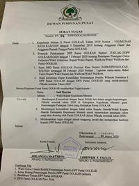 Survei Popularitas Tinggi, DPP Golkar Tetapkan Said Hasyim Calon Bupati Meranti</a>