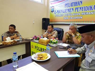 Pemkab Meranti Bersama TNI-Polri Siap Antisipasi Karlahut</a>